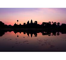 Sunrise in Angkor Wat Photographic Print