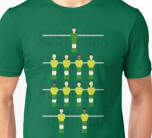 Cool Retro Australia soccer fussball design Unisex T-Shirt