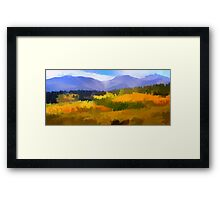 Carpet of Fall Color  Framed Print