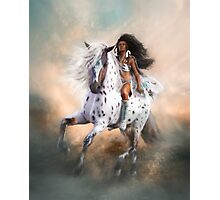 White Storm Photographic Print
