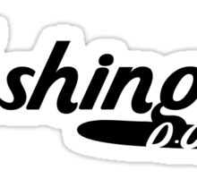 Washington DC Vintage Logo Sticker