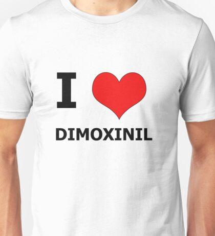 I Heart Dimoxinil Unisex T-Shirt