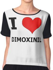 I Heart Dimoxinil Chiffon Top