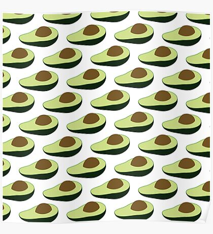 Avocados are alligator pears or fertility fruit Poster