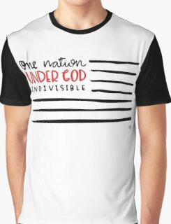 One Nation Under God Graphic T-Shirt