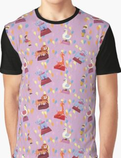 Pink Carnival  by Lollypop Arts Graphic T-Shirt