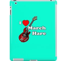 I Heart March Hare iPad Case/Skin