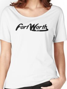 Fort Worth Texas Vintage Logo Women's Relaxed Fit T-Shirt