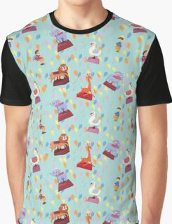 Blue Carnival  by Lollypop Arts Graphic T-Shirt