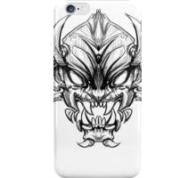 Shogun Demon iPhone Case/Skin