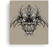 Shogun Demon Canvas Print