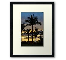 Ba Ba Black Tree Framed Print