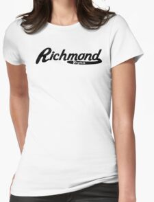 Richmond Virginia Vintage Logo Womens Fitted T-Shirt