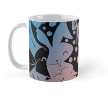 Cute Pink and Blue Bunnies Mug