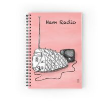 Ham Radio Spiral Notebook