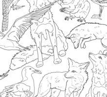 Wildlife Sticker