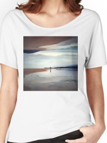 Ghost on the Shore Women's Relaxed Fit T-Shirt