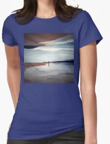 Ghost on the Shore Womens Fitted T-Shirt