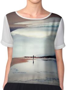 Ghost on the Shore Chiffon Top