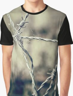Pointy Droplets Graphic T-Shirt
