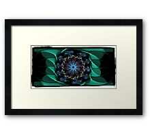 DA FS Tower Of Thoughts In Waves Mandala ONFXW© Framed Print