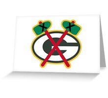 Greenbay Blackhawks Greeting Card
