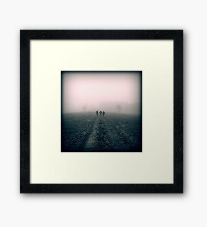 Distant Roads Framed Print