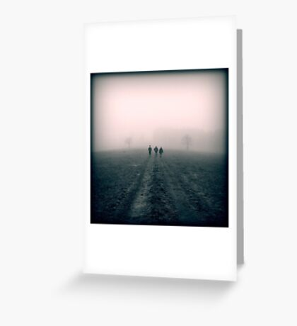 Distant Roads Greeting Card
