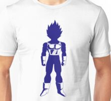Saiyan warrior (Blue) Unisex T-Shirt