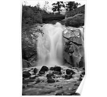 Helen Hunt Falls #2 (Black and White) Poster