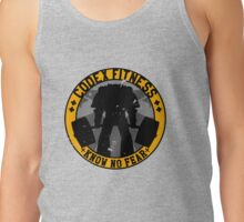 Know No Fear (large badge) Tank Top