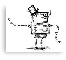 Em the robot Canvas Print