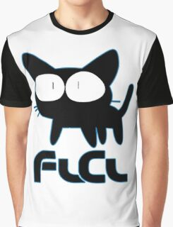 FLCL Fooly Cooly Anime Graphic T-Shirt