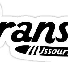 Branson Missouri Vintage Logo Sticker