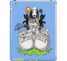 Totoro & Friends iPad Case/Skin