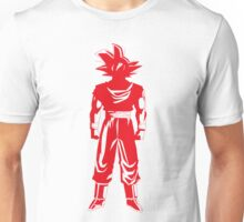 Saiyan warrior (Red) Unisex T-Shirt