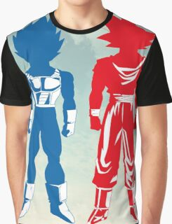 Saiyan Warriors Graphic T-Shirt