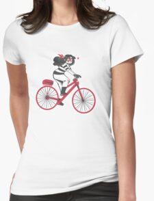 Hello Bike! Womens Fitted T-Shirt
