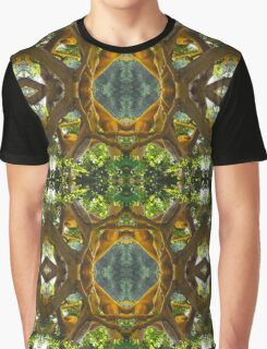 Gnarled Trunk and Branches Graphic T-Shirt