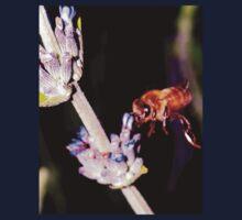Bee on lavender Kids Tee