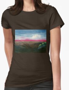 Red Horizon Womens Fitted T-Shirt