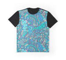 - Azure plants mozaic - Graphic T-Shirt