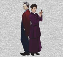 Missy and The Doctor One Piece - Long Sleeve