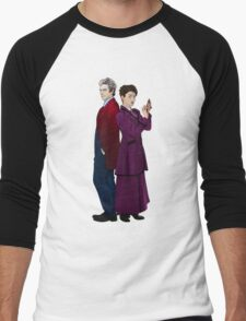 Missy and The Doctor Men's Baseball ¾ T-Shirt