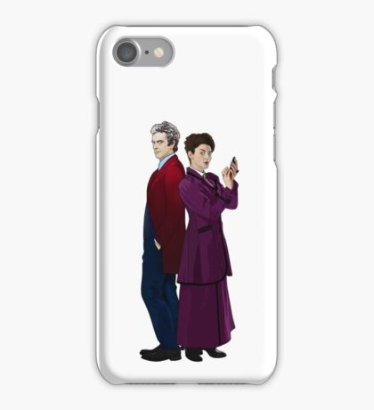Missy and The Doctor iPhone Case/Skin