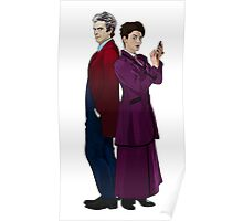 Missy and The Doctor Poster