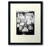 Man of The Night Framed Print