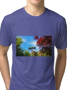 Trees in the Backyard Tri-blend T-Shirt