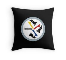 Pittsburgh Penguin Steelers Throw Pillow