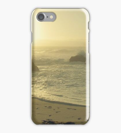 Serenity at the shores iPhone Case/Skin